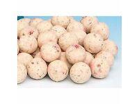 Blakes Baits Boillies Coco pex, Krinella, Nut Mix-Maple Cream, Frank 'N' Indian, Crab & Cranberry.