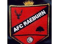 AFC Raeburn seek Goalkeeper for Mens Sunday League Football Team