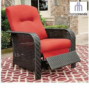 NEW HOMETRENDS RECLINER CHAIR LG-H8209-36 RD 188395885 TUSCANY PATIO
