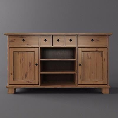 ikea stornas buffet unit in newport gumtree. Black Bedroom Furniture Sets. Home Design Ideas