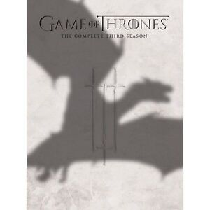 Game-Of-Thrones-Series-3-Complete-DVD-2014-5-Disc-Set-Box-Set