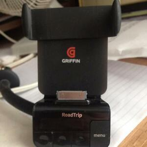 Griffin iPhone charger and Radio transmitter