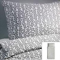 Ikea Krakris Twin Duvet Cover & Sham New in Package