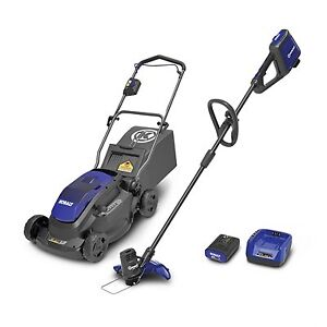 Kobalt 40-Volt MAX*  Cordless Lawn Mower and Trimmer Combo Kit