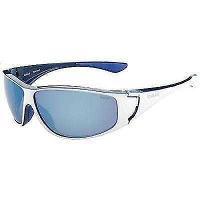 Bolle Highwood Sunglasses - Shiny White/Blue, Medium/Large Box not Included