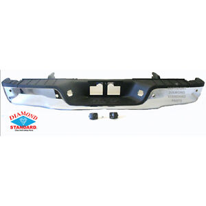 NEW 2007-2012 TOYOTA TUNDRA REAR BUMPER WITH PARKING ASSIST NEW