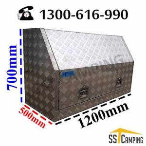 L1200*W500*H700 Full Side Opening Heavy Duty SST Camping Toolbox Melbourne CBD Melbourne City Preview