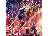 COLDPLAY CARDIFF 2017- PITCH STANDING TICKETS