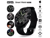 G5 Smart Watch With Heart Rate, Sleep Monitor And Pedometer