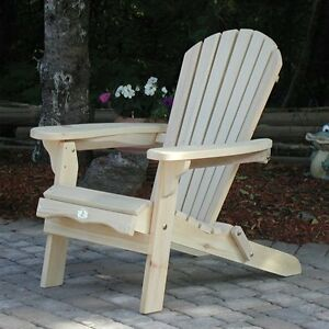 Adirondack folding Bear Chairs Canada Made