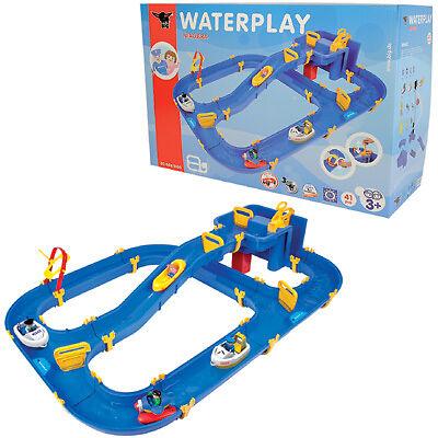 BIG Waterplay Niagara Wasserbahn Kinderspielzeug Draußen Wasser Wasserspielzeug