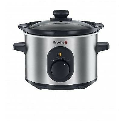 Breville VTP169 Compact Slow Cooker, 1.5 L great for 1 or 2 people.