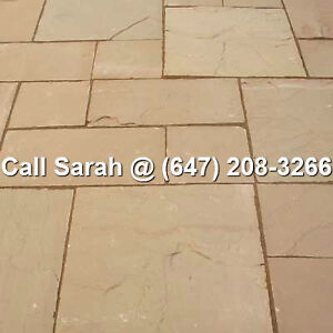 Beige Paving Stones Indian Sandstone Flagstone Paver Patio Paver