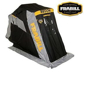 USED* FRABILL RECON 100 ICE SHELTER 640100 224980736 FLIP OVER PAD TRUNK SEAT