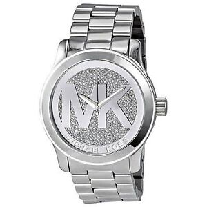 5c7107f5237e Michael Kors Runway MK MK5544 Wrist Watch for Women for sale online ...