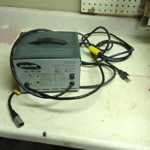 Battery charger for wheelchair