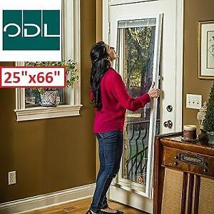 "NEW ODL ENCLOSED BLINDS 25"" x 66"" BWM256601 225248874 for Flush Framed Window Patio Door"
