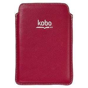 Roots Red Leather Kobo Cover  N.W.T.