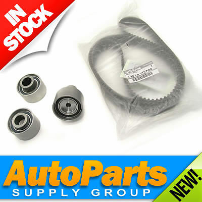 Genuine Nissan Timing Belt with GMB Idler,Tensioner Pulley Components 90-96 ALL