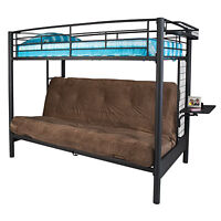 Twin/Double Metal Bunk Bed