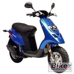 STOLEN  2005 piaggiao typhoon scooter blue in color