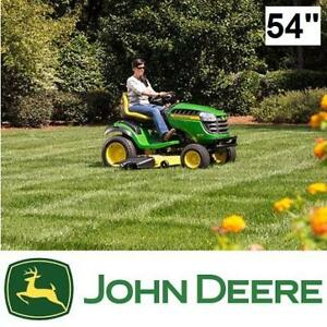 "NEW* JOHN DEERE 54"" RIDE ON MOWER - 132261590 - D155 24HP HYDROSTATIC GAS GASOLINE POWERED MOWERS LAWNMOWER"
