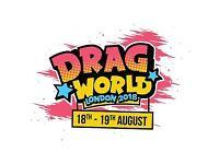 DRAGWORLD London. X2 adult weekend tickets.