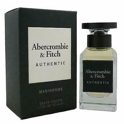 Abercrombie & Fitch Authentic Man Eau de Toilette 50ml Spray