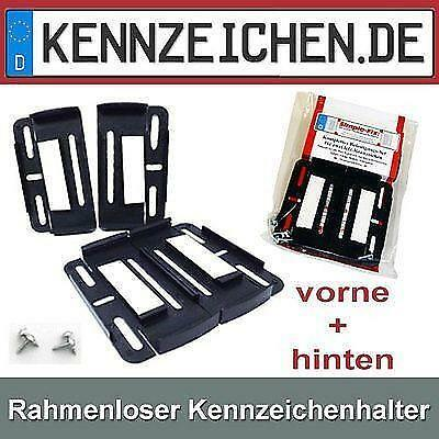 kfz kennzeichenhalter auto motorrad teile ebay. Black Bedroom Furniture Sets. Home Design Ideas