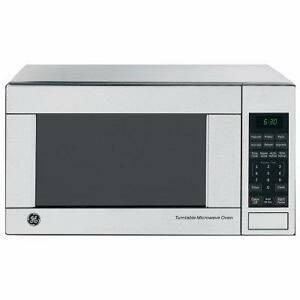 21-inch GE countertop microwave oven, stainless