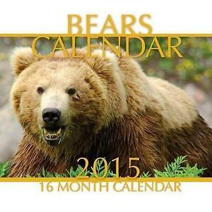 USED-GD-Bears-Calendar-2015-16-Month-Calendar-by-James-Bates