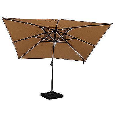 3 5m parasol ebay. Black Bedroom Furniture Sets. Home Design Ideas
