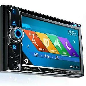 Clarion NX405 DVD Multimedia Station With Built-In Navigation