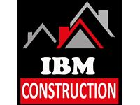IBM CONSTRUCTION BUILDER PLUMBING ELECTRICAL EXTENSION LOFT CONVERSION, ROOFING, BATHROOMS, KITCHENS