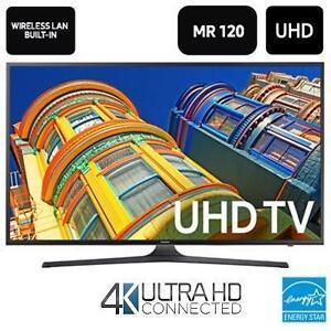 Tv samsung  / Télévision  Samsung DEL 50'' UN50KU6290 4K Ultra HD 120CMR Smart 2 ANS DE GARANTIE