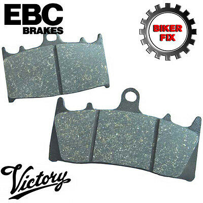 VICTORY Cross Country Tour 12 EBC Rear Disc Brake Pads FA196
