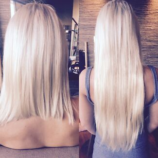 Hair extensions fullstop hairdressing gumtree australia gold micro link remy hair extensions 340 full head surfers paradise pmusecretfo Gallery