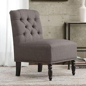 NEW MADISON PARK ACCENT CHAIR SERENA ACCENT CHAIR - SOLID STEELE 105376925