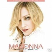 Madonna Calendar
