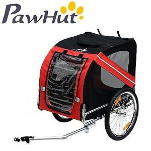 OB PAWHUT PET TRAILER CARRIER 5663-0062 189393577 WITH DRAWBAR HITCH OPEN BOX