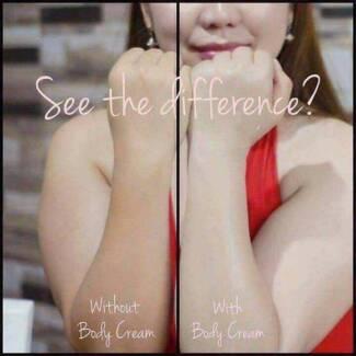Instant Whitening Body Cream + Sunscreen