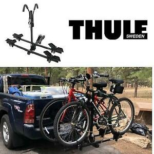 NEW* THULE HITCH MOUNT 2 BIKE RACK TH990XT 246365899 DOUBLETRACK PLATFORM STYLE