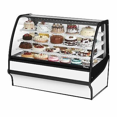 True Tdm-r-59-gege-s-w 59 Refrigerated Bakery Display Case