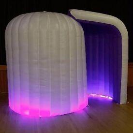 LED INFLATABLE IGLOO PHOTO BOOTH