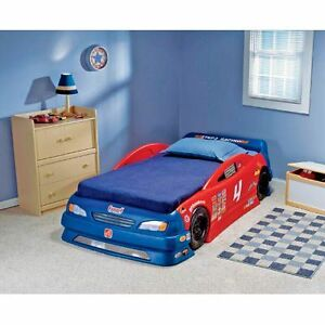 Step 2 Stock Car Convertible Bed, New