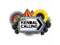 Kendal Calling - 2 adult weekend camping tickets plus a single car parking ticket