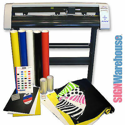 Starter Bundle Kit 31 Vinyl Cutter Machine Wsoftware Vinly Sign Plotter Great