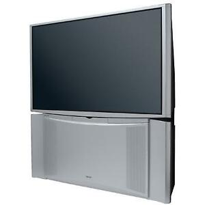 "51"" HITACHI REAR PROJECTION TV"