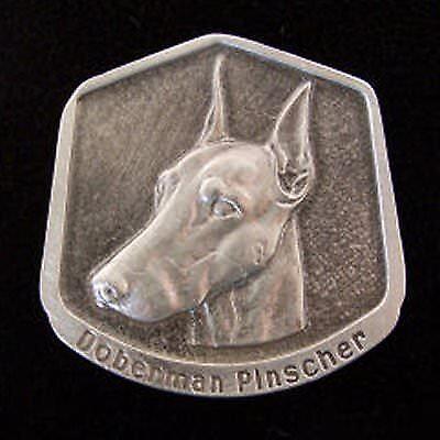 Doberman Pinscher Fine Pewter Dog Breed Ornament