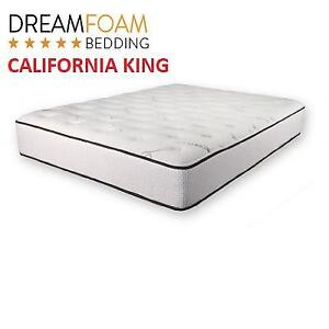 NEW DREAMFOAM 10'' LATEX MATTRESS 221699554 CALIFORNIA KING ULTIMATE DREAMS